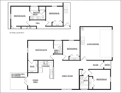 Ellore Floor Plan by Devoro Homes