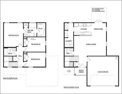 The Linguard Floorplan by Devoro homes