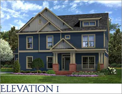 The Beaufort front elevation 1