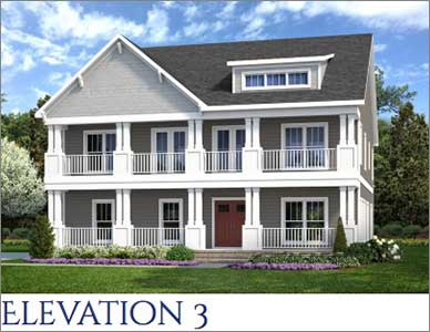 Beaufort Elevation by Devoro Homes