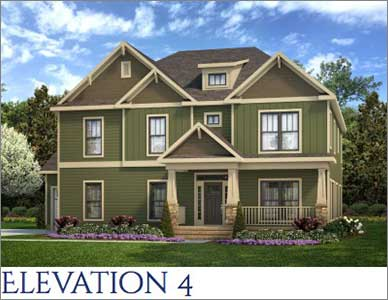 The Beaufort Elevation Homes by Devoro Homes