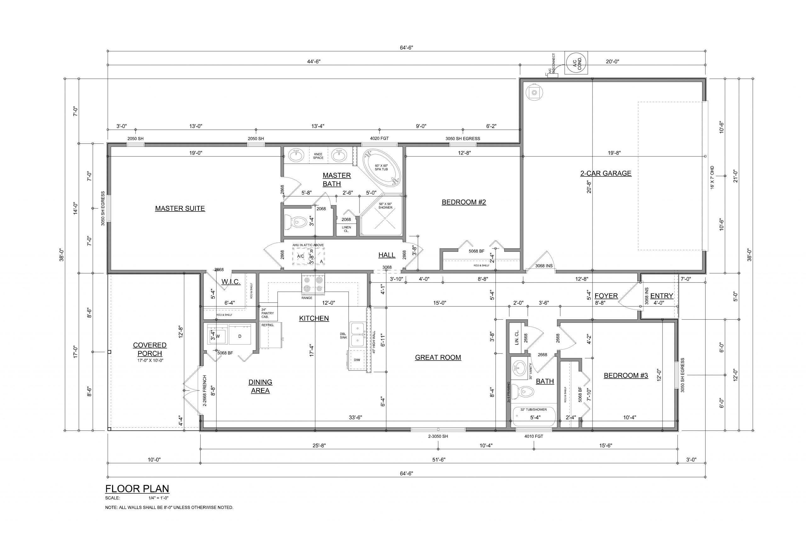 Osceola Floorplan by Devoro homes