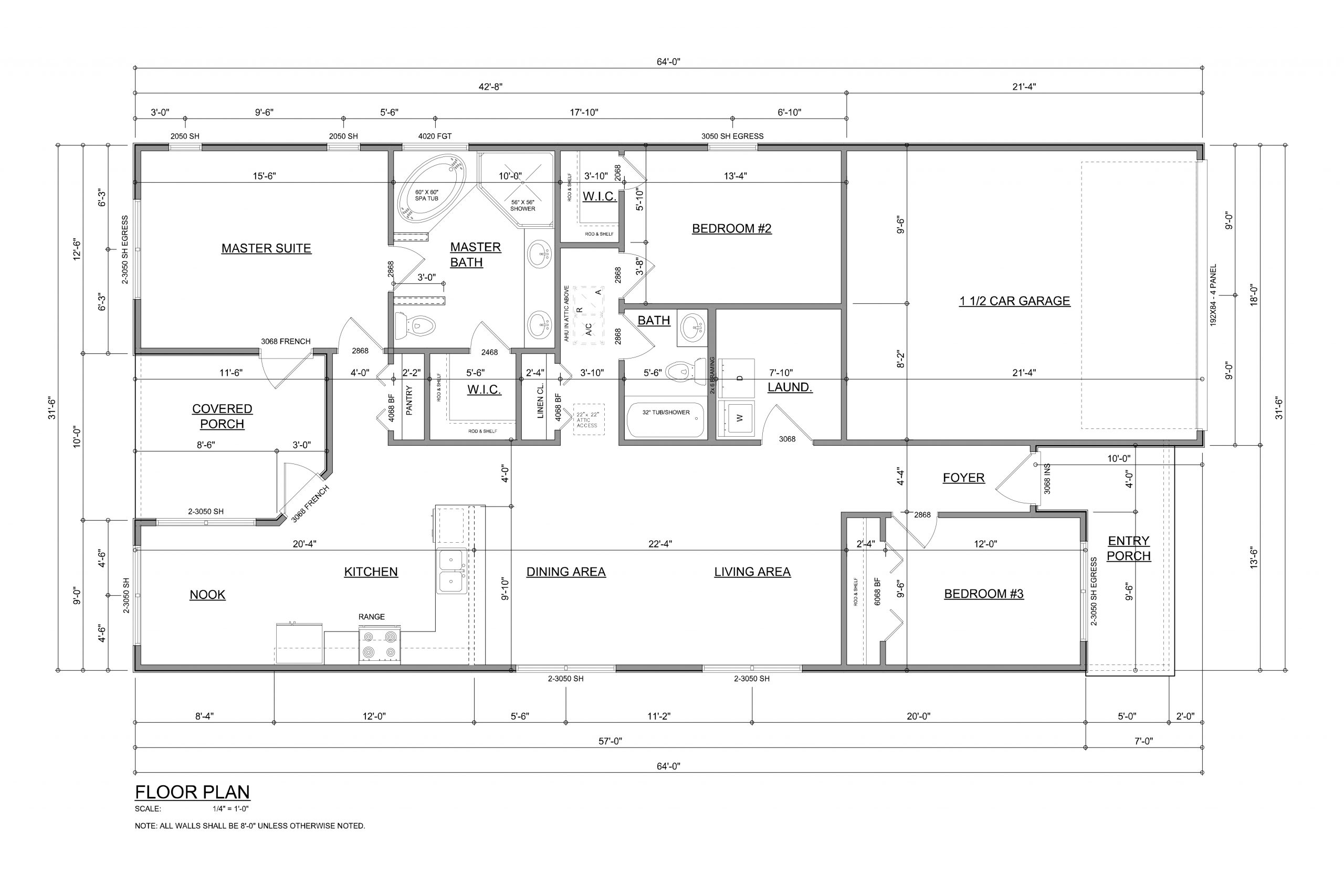 Renegade Floor Plan by Devoro Homes